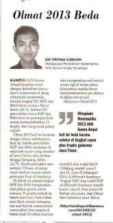 Klipping di Koran Surya